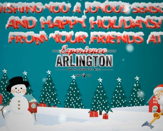 Experience Arlington Christmas Greeting